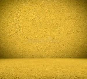 Empty Yellow Room Background 8