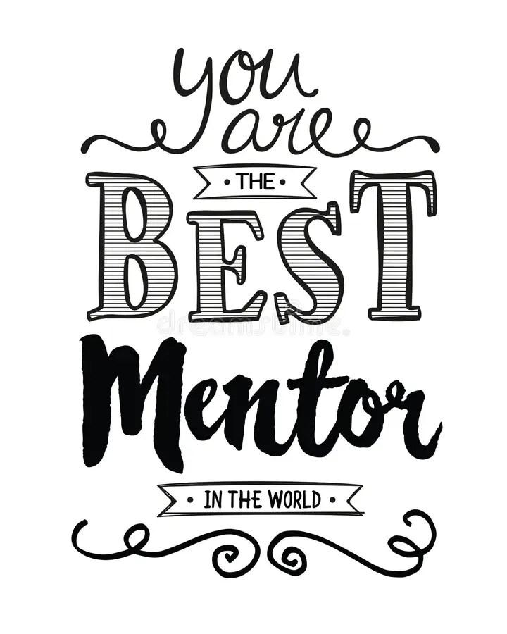 Mentor Stock Illustrations