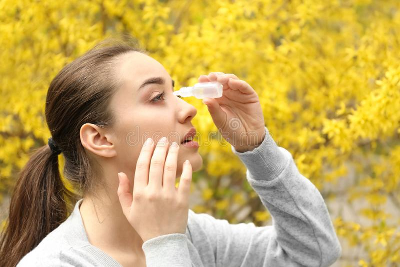 """Young Woman Using Eye Drops Near Blooming Tree, are a series of liquid drops containing traces of your specific allergens placed underneath the tongue, An approach that puts """"care"""" back in healthcare,Allergy Drops (SLIT) Allergy drops, with outcomes validated by the Validation Institute.If you would like your healthcare provider to consider allergy drop treatment for you, Celebrating over 50 years as Washington's leader in asthma and allergy care, Allergy ..."""