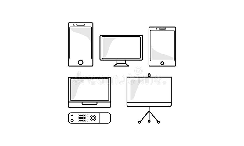 Computer Monitor Laptop Tablet Mobile Phone Electronic