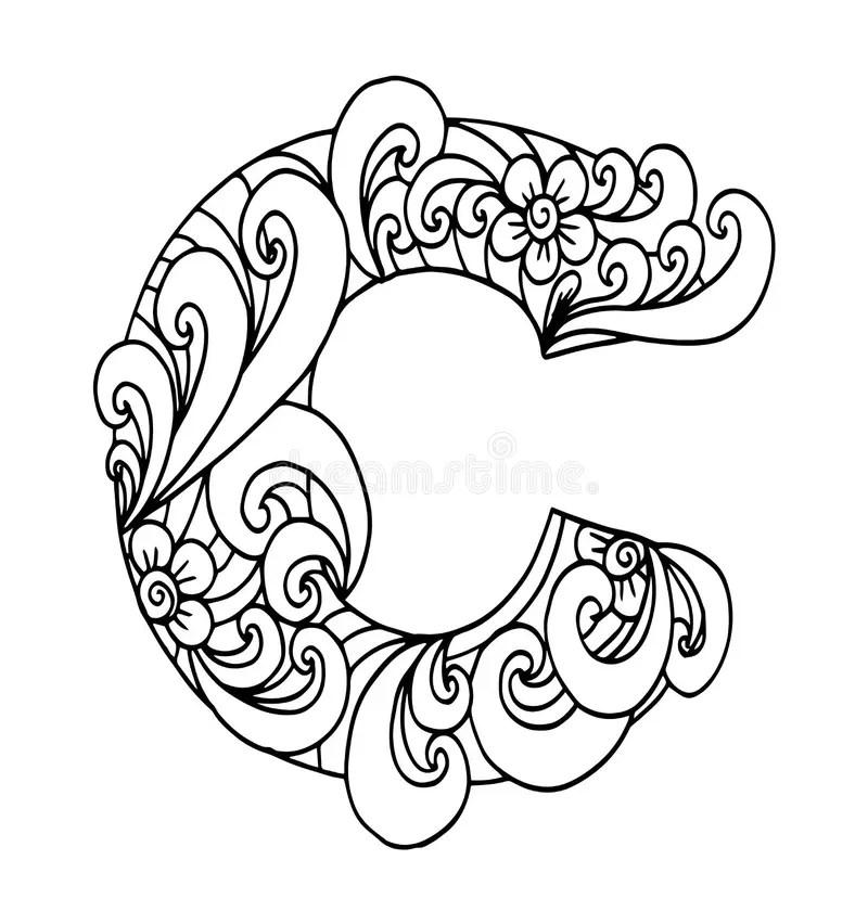 Doodle font stock vector. Illustration of scribbling