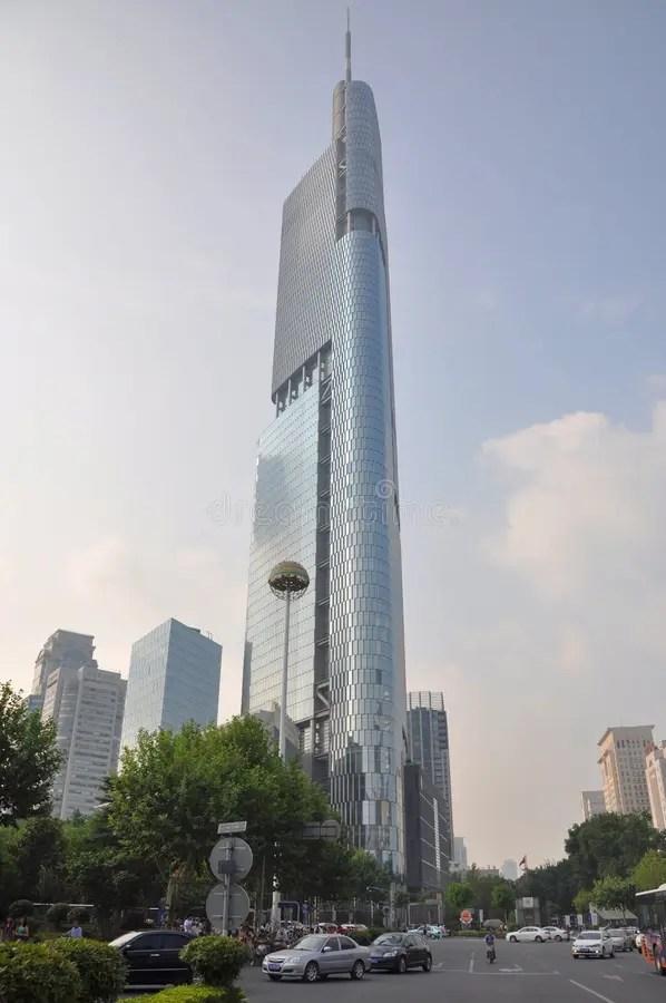 Zifeng Tower In Nanjing China Royalty Free Stock Image