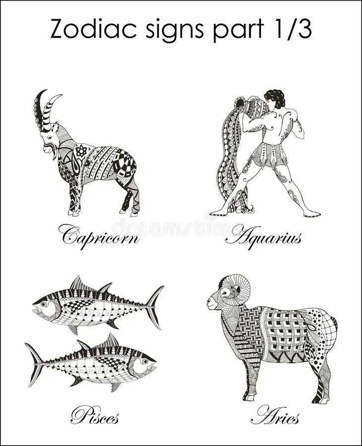Zodiac Signs. Capricorn. Aquarius. Pisces. Aries. Part One