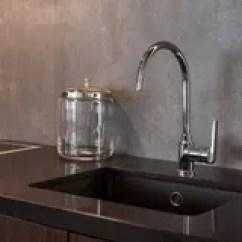 Gray Kitchen Sink Shoes For Work In 一个长方形设计师厨房水槽的细节与镀铬物水龙头的对灰色织地不很细墙壁 一个长方形设计师厨房水槽的细节与镀铬物水龙头的对灰色织地不很细墙壁库存图片 图片包括有家具 镀铬物 117621103