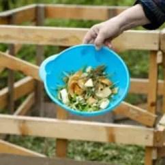 Kitchen Composter Columns 为堆肥会集的有机厨房废物库存照片 图片包括有施肥 现有量 粮食 庭院 生物反馈 残余 有机 72769712