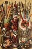 北部美國文化的印地安人 圖庫攝影