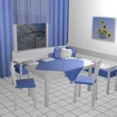Corner Bench Seating For Kitchen Dresser 3d角落的座位库存例证 插画包括有对象 椅子 唯一 接收 皮革 居住 厨房的就座角落库存例证