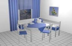 corner booth seating kitchen coastal rugs 3d角落的座位库存例证 插画包括有对象 椅子 唯一 接收 皮革 居住 厨房的就座角落库存例证