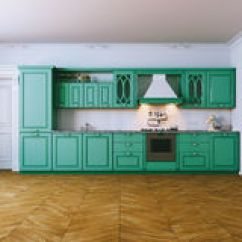 Kitchen Aid Classic Plus Fruit Decor 在现代内部的木厨房家具从b的晚上视图库存例证 插画包括有设计 布琼布 在经典样式图2的木蓝色厨房内部3d回报向量例证