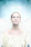 天使幻想天堂般的天空翼 庫存照片. 圖片 包括有 云彩. 生活. 天使. 無辜. 查出. 圣徒. 季節. 天空 - 802882