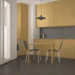 Chairs For Kitchen Ikea Renovation Ideas 小厨房椅子和客厅库存图片 图片包括有没人 计数器 空间 段落 通道 有大窗口和餐桌的最低纲领派现代厨房与椅子 灰色和