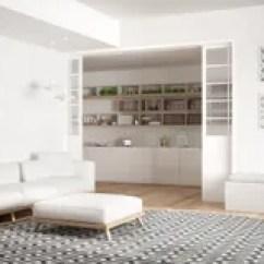 Wine Kitchen Rugs Magazine Kitchens 有沙发 大圆的地毯和厨房的最低纲领派客厅我库存照片 图片包括有舒适 木条地板 框架 长凳 盲人 90343710
