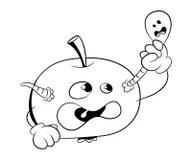 Rotten Apple Stock Illustrations