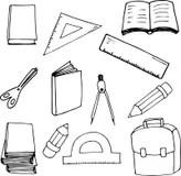 School Kids Reading a Book stock vector. Illustration of