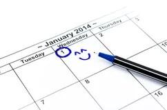 January 2014 calendar stock illustration. Illustration of
