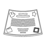 Bronze Certificate Template Stock Illustrations