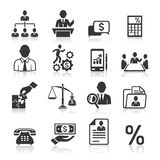 Tax icons stock vector. Illustration of money, banking