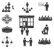 Workforce, Team Working, Business People In Motion