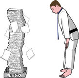 Bowing Stock Illustrations