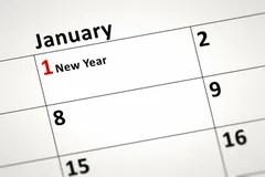 Calendar detail Stock Photos