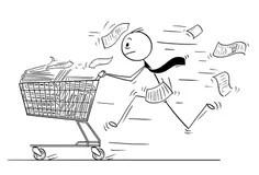 Accounting Clerk Cartoon Stock Illustrations