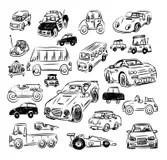 Polluting car stock vector. Illustration of dirty, dark