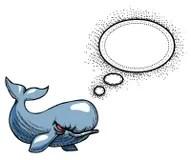 angry cartoon whale blowhole
