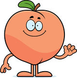 Cartoon Peach Waving Stock Vector - Image: 42424453