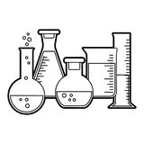 Chemistry And Biology Education Concept Stock Vector