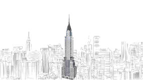 Empire State Building editorial photo. Illustration of