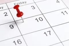 Blank table calendar stock image. Image of cutout, card