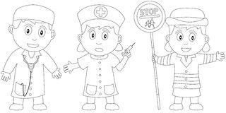 Coloring Book for Kids [4] stock illustration