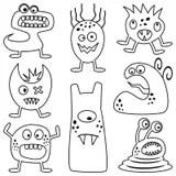 Halloween Monsters Scary Cartoon Grim Reaper EPS10 Royalty