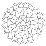 Sun Mandala stock vector. Illustration of buddhism