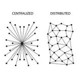 Social Media Connections Diagram Stock Vector