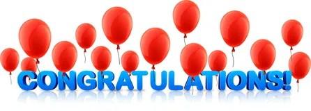 congratulations banner multiple