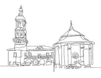 Free Public Domain CC0 Image: Line Drawing Of Museum