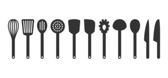 Egg Beater Glyph Icon, Kitchen And Cooking Stock Vector