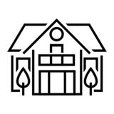Ownership Icon Vector From Copyright Collection. Thin Line