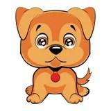 Baby Dog Puppy Cartoon Illustration Stock Images Image
