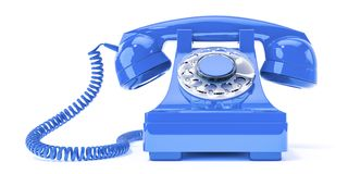 old blue phone stock