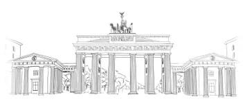 Bleistiftzeichnung Von Hand Gezeichnet Stockfoto - Bild