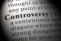 Definition of Controversy stock photo. Image of controversial - 9567938
