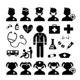 Hospital Pictogram Stock Photos, Images, & Pictures
