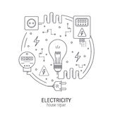 Electricity Stock Illustrations