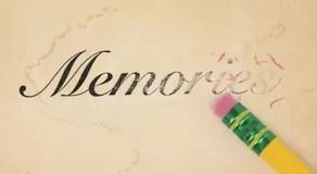 Erasing Memories Stock Photography