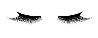 Eyelash Stock Illustrations
