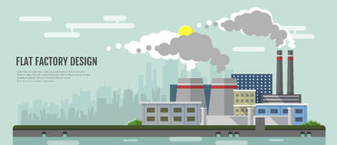 factory fumes stock illustrations