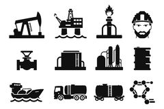 Oil Industry, Gas Production, Transportation And Storage
