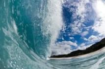 Giant wave stock image Image of oahu splash shore